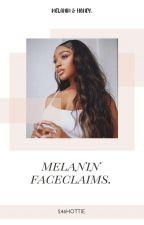 melanin faceclaims by FLYNNSWIFE