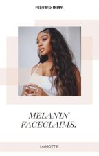 melanin faceclaims by 246hottie