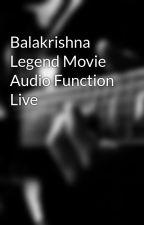 Balakrishna Legend Movie Audio Function Live by WatchTeluguMovies