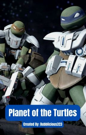 Dark Turtles in Space by Bubblicious323