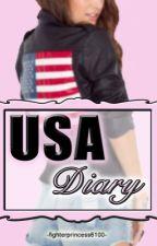 USA Diary - Food Journal by Fighterprincess6100