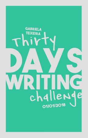 30 Days Writing Challenge by catscantwrite
