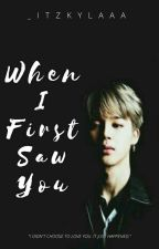 When I First Saw You (Park Jimin x Rose) by _KP1011_