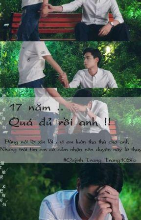 17 năm , quá đủ rồi anh : Chinh Phục Chồng Yêu ! by Trang10Siio