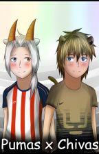 Pumas x Chivas Comic (Yaoi) by OkumuraJaqueline