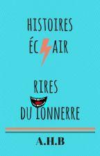 Histoires éclair, Rires du tonnerre (Histoires drôles) by AHBstories