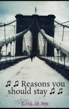 ♫ ♫  Reasons you should stay ♫ ♫ (Depression) by I_cut_to_live