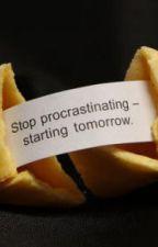 Procrastination by ElizabellaJones