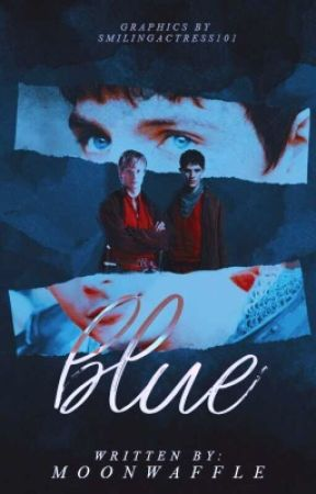 Blue ✧ Merthur by mooonwaffle
