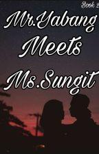 book 2 mr.yabang  meet ms.sungit by LykaMaeArandia