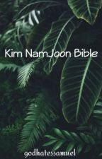 kim namjoon bible.  by godhatessamuel