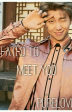 FATED TO MEET YOU { RM X READER} [ COMPLETED] by purelove33