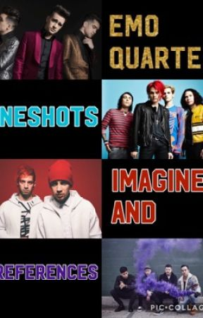 Emo Quartet Oneshots, Imagines and preferences.  by I_Love_FallOutBoy
