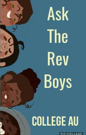 Ask The Rev Boys (College AU) ||Traducido al español|| by R_R_Rainbow2002
