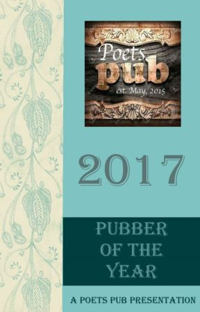 2017 Pubber of the Year Contest by PoetsPub