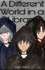 A Different World in a Library by drRC09
