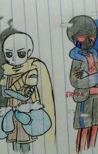 Encerrado con mi enemigo(ErrorxInk) -TERMINADA- by Ink_Girl_UT