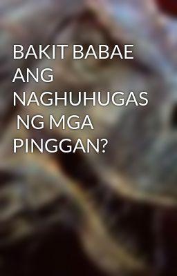 BAKIT BABAE ANG NAGHUHUGAS  NG MGA PINGGAN?