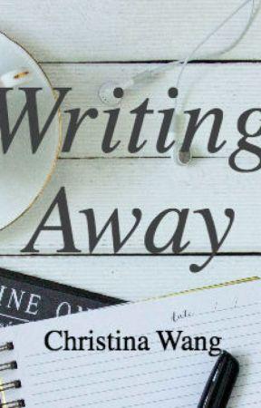 Writing Away by christinewonn