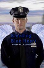 Bleeding Blue Heart by cackerlovesu
