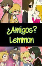 ¿Amigos?_Lemmon_Freddica_FNAFHS by AmericaZel