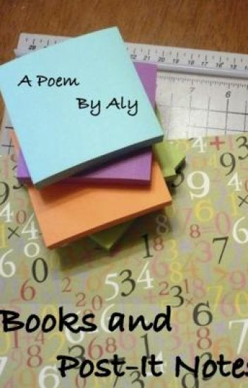 Books and Post-It Notes