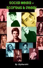 Social Media ~ Scorbus & Jeddy by Slythershit