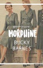 Morphine - Bucky Barnes by verajohnsson