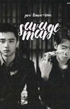 savage man. + baeksoo [白星]  by Wu_FanFan14