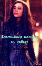 Descendants-Meeting on College by EmaTheLol