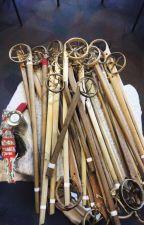 Baaga'adowewin Oshkaabewis- Lacrosse messenger by Maiingaans