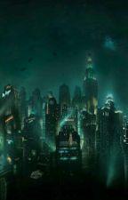 Irish Raindrops.  Jatlas, Jack X Atlas Bioshock by ClockworkTarantula
