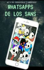 ¡WhatsApps de los Sans![AU's De Undertale][Sanscest][T2?] by -Cristalensita-