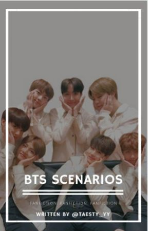 BTS SCENARIOS» - BTS Reaction: You touching yourself and