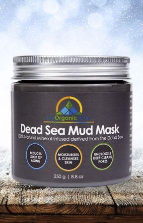 Dead Sea Mud Mask Black Face Mask for Acne Treatment