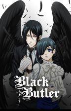 Black Butler boys X modern reader by GlazeyGlare