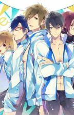 Doujinshi~Free! Iwatobi Swim Club by carol-urie