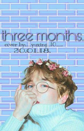 ثلاثة اشهر.|three months. by __yixing_10__