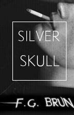 Silver skull by flores_de_canela