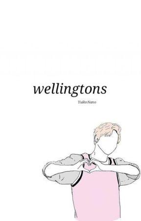 wellingtons ❀ kpop by YuikoNano