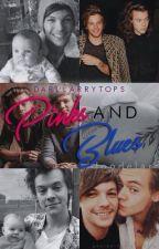 Pinks and Blues. -l.s (mpreg!) by darklarrytops