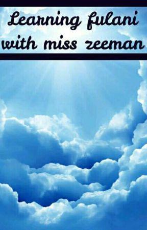 learning fulani with miss zeeman by zeeman0