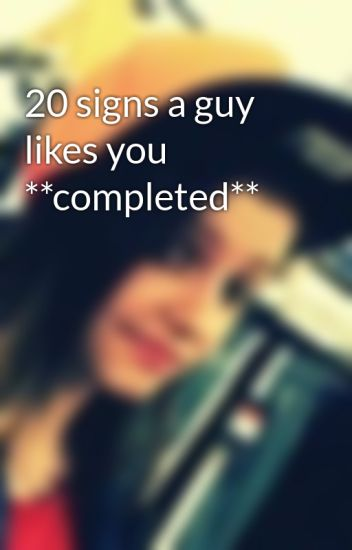 what are signs of a guy liking you