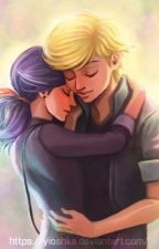 Marinette e Adrien  by Anna_Cla