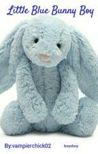 Little Blue Bunny Boy by vampierchick02