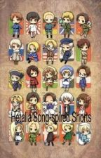 Hetalia Songs-spired shorts by LoveWhoEver