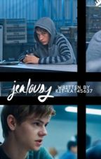 Jealousy ( Thomas Brodie-Sangster/Newt x reader ) by kit-kat45637