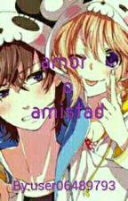 AMOR O AMISTAD  (freddy y chica) by user06489793