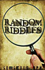 Random Riddles (DISCONTINUED) by MsBunni