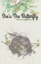 SHE'S THE BUTTERFLY. || George Weasley x reader. by xblackmagic
